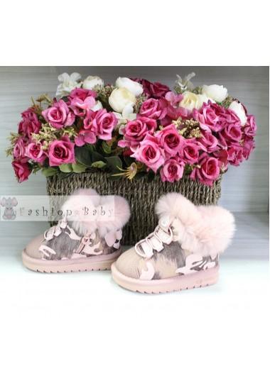 Угги розовые Fashion