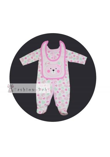 Комплект для малышки Pink Bear